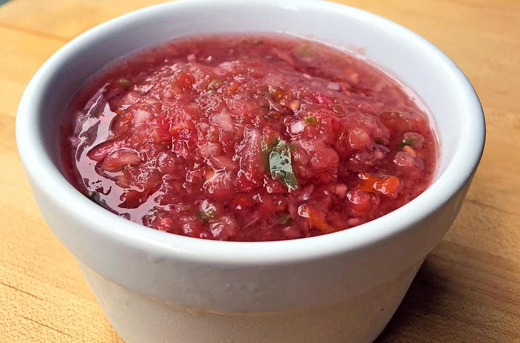 Fresh summer salsa