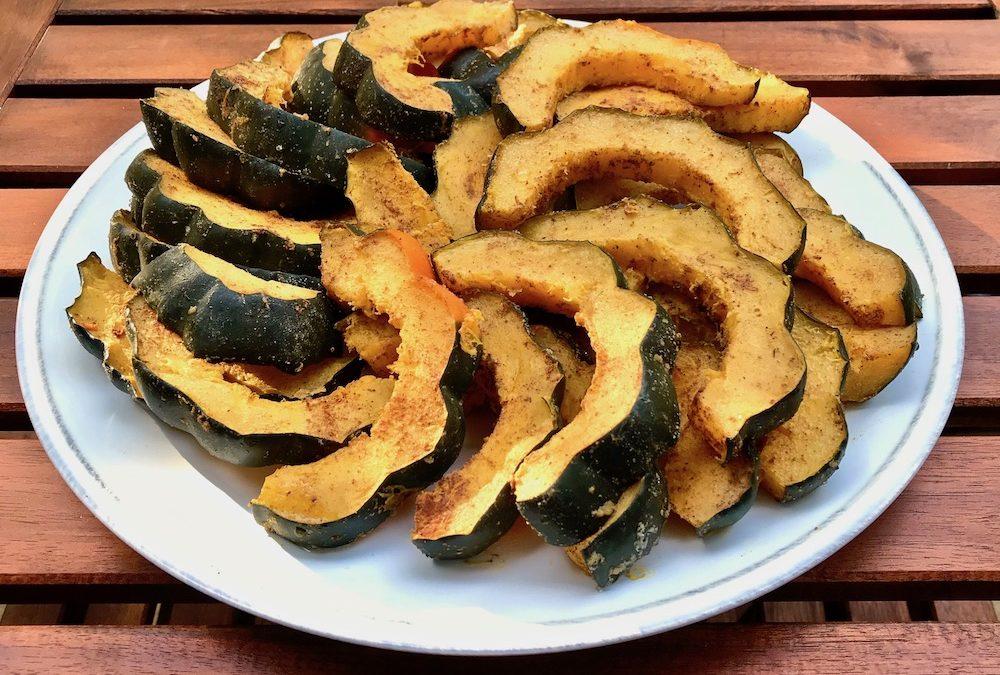Spiced acorn squash