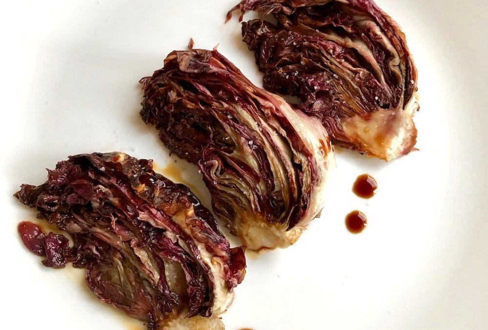 Simple roasted radicchio