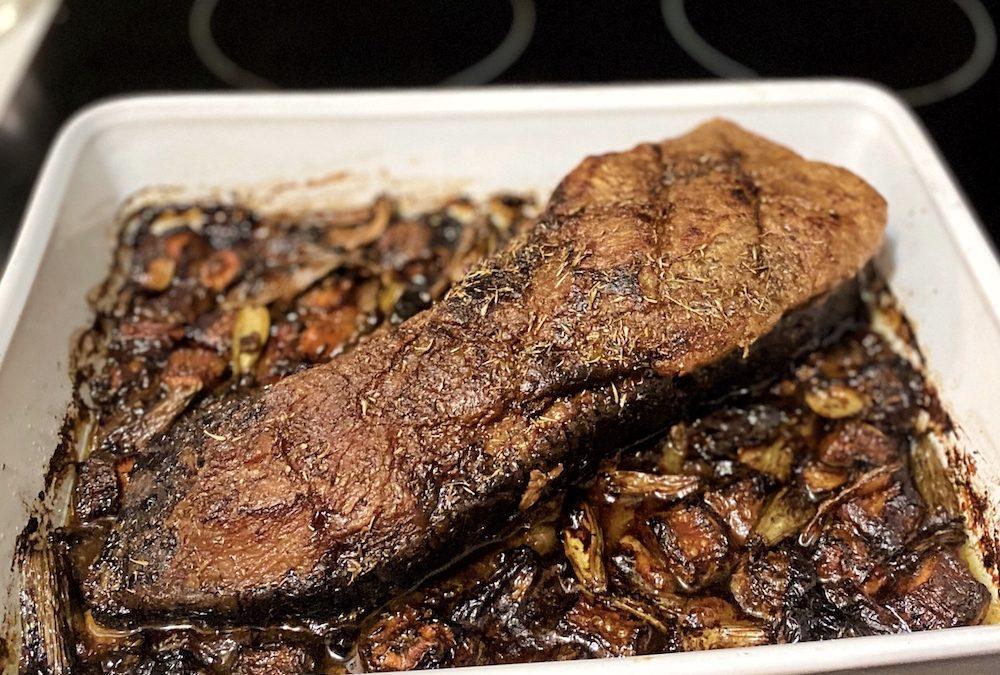 Classic beef brisket